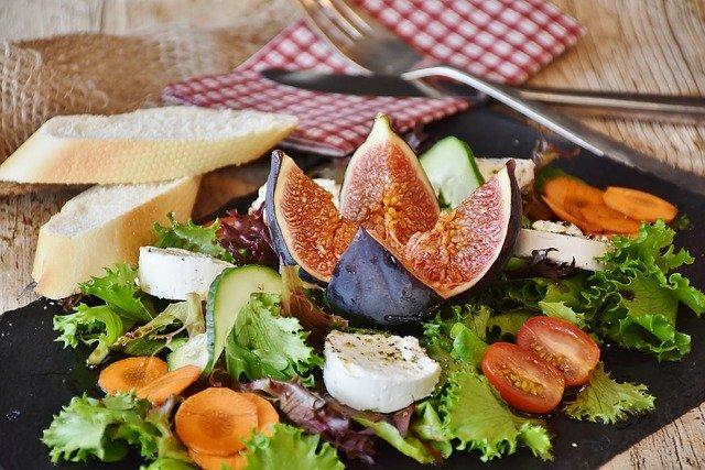 Salat Feigen Käse
